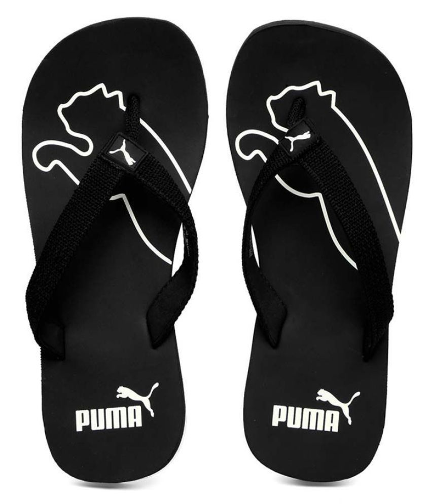 5277610672e75 Puma Men s Colaba Official Black Thong Flip Flop Price in India- Buy ...