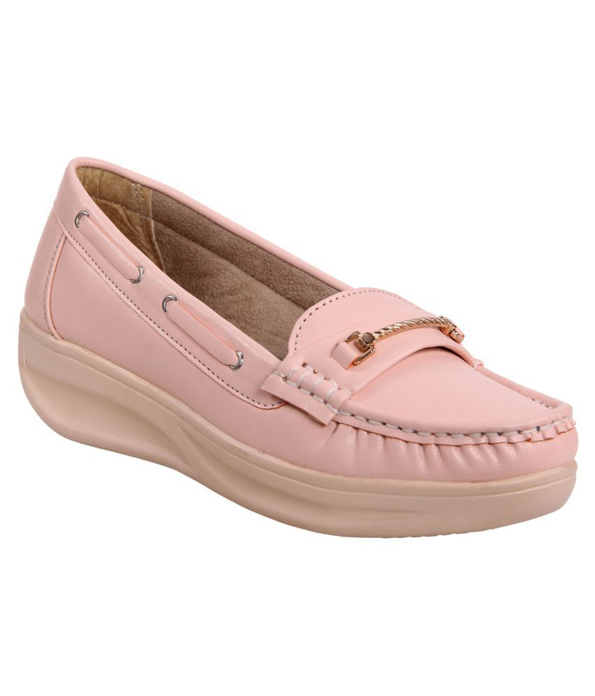 Zappy Pink Casual Shoes