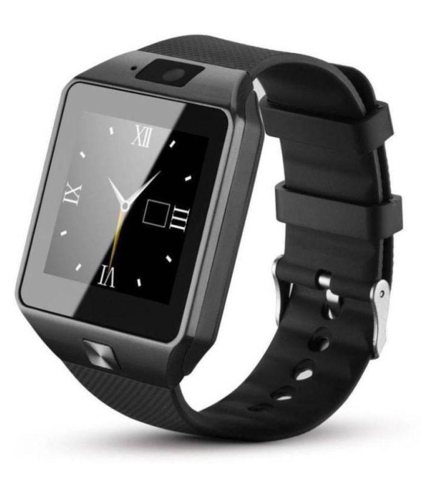 Cyxus Oppo ,Vivo & Mi 4G Calling Wrist Watch Phone Black Smart Watches