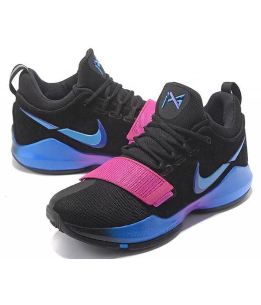 83089bd642a Nike PG 1 PAUL GEORGE Black Basketball Shoes - Buy Nike PG 1 PAUL ...