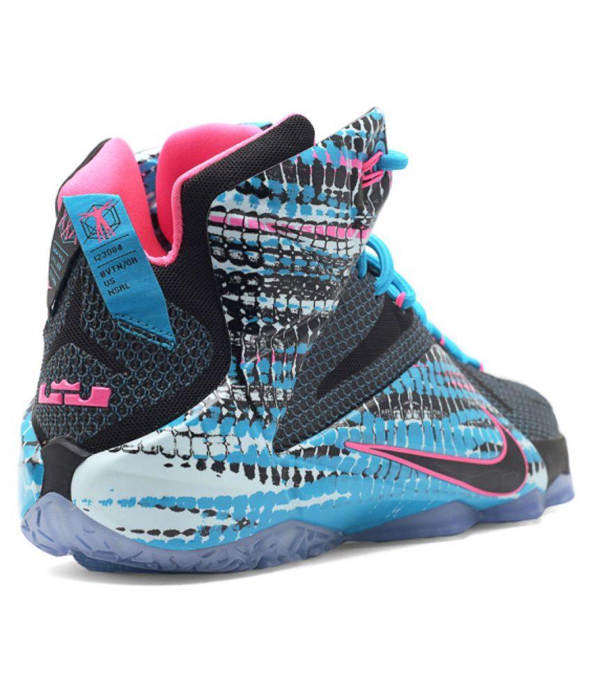 Nike 2018 Lebron X11 CHROMOSOMES Multi Color Basketball