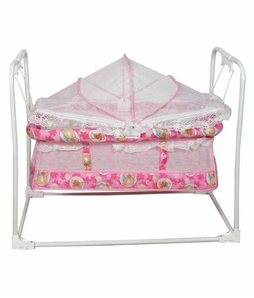 Variety Gift Centre Pink Baby Cradle