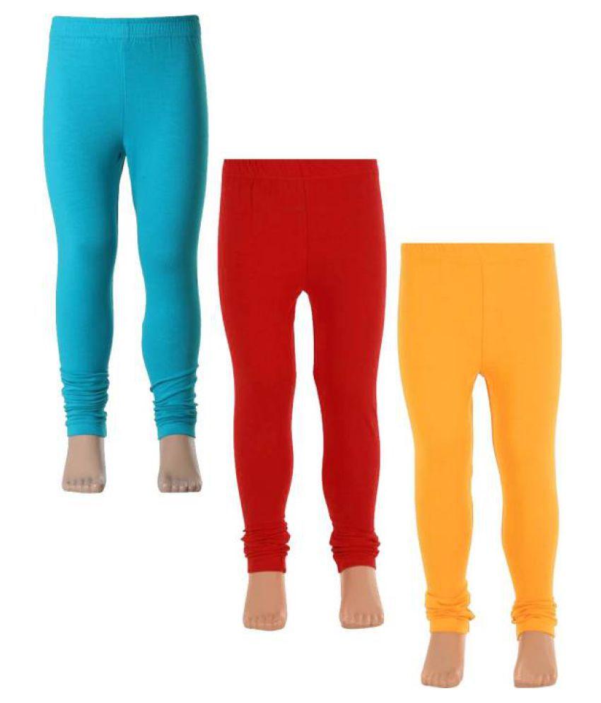 b509a895c Babeezworld Dark Solid Colour Soft Cotton Full Length Girls Kids Pajamas  Leggings Bottom With Elasticated adjustable ...