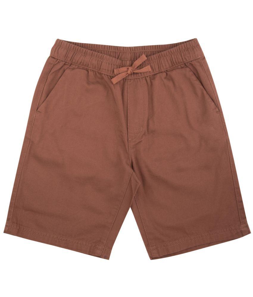 Flying Machine Boys Printed Casual Shorts