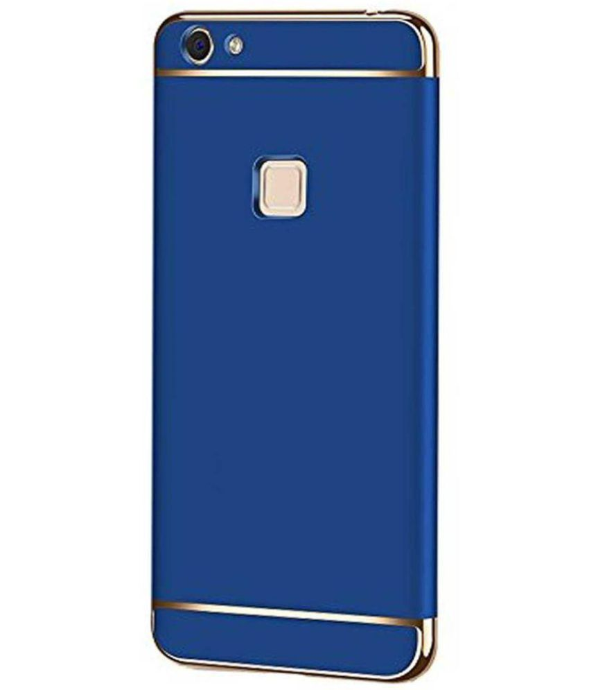 new product 60354 f3e26 vivo V7 plus - 3 in 1 Protective Cover by ClickAway - Blue