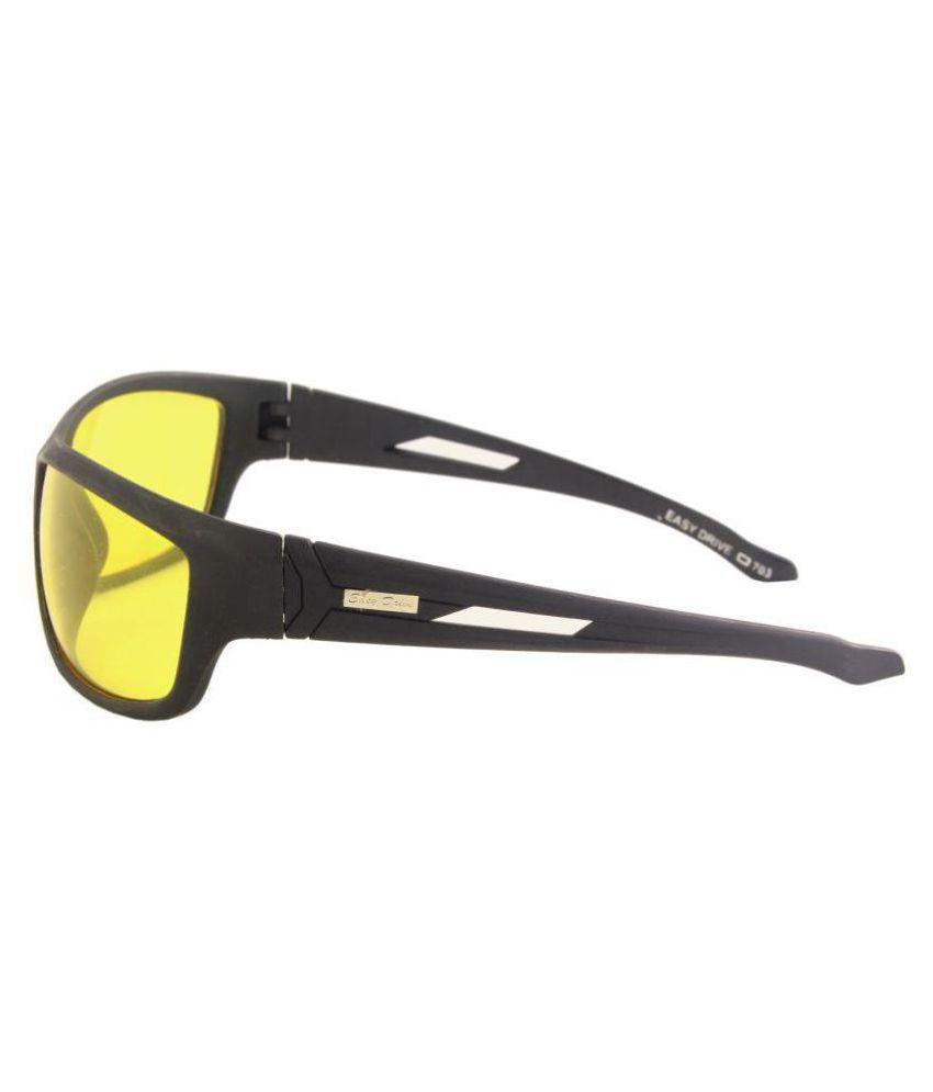 7b1c11d89a5 ... MP Night Vision Driving Glasses Yellow Sunglasses Goggles Lens Lenses