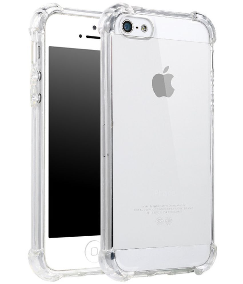 9f97baf3a1c Apple iPhone 5S Plain Cases Spectacular Ace - Transparent - Plain Back Covers  Online at Low Prices