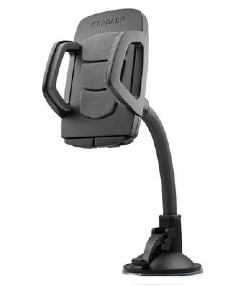 Capdase Car Mobile Holder Single Clamp for Dashboard  amp; Windshield   Black