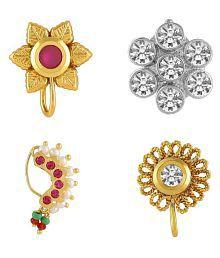 f6b85be70dc Fashion Nose Pins  Buy Designer Nose Pins Online