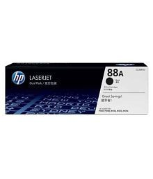 HP Laserjet 88A (CC 388A) Black Toner Cartridge Single