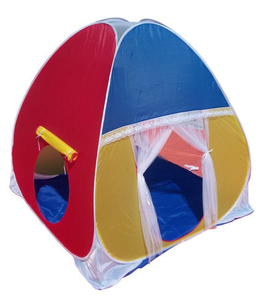 low priced dc654 831c9 Homecute Foldable Kids Play Tent House for 1 year to 12 years
