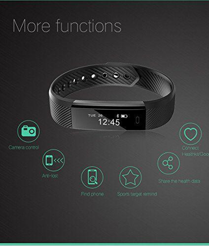TRUE STORE™ Fitness tracker Smart Fitness  Heart Rate Monitor Smart Watch Waterproof Bluetooth Smart Bracelet/Smart Fitness Tracker For IOS Android devices.