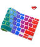 Keyboard Cover For Acer Chromebook 14 inch Chromebook CB3-431   CP5-471 Silicone Skin Laptops Accessories By Casiii   14 Rainbow
