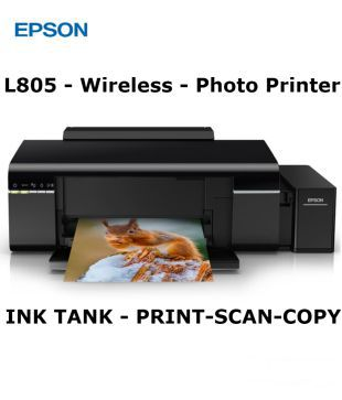 Epson L805 Multi function (Print, Scan, Copy, Wifi) Wireless