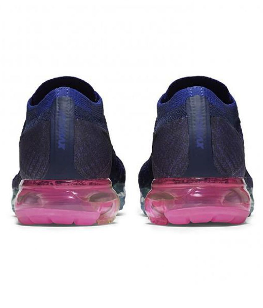 f28a4aaec85 Nike AIR VAPORMAX FLYKNIT Navy Blue Training Shoes - Buy Nike AIR ...