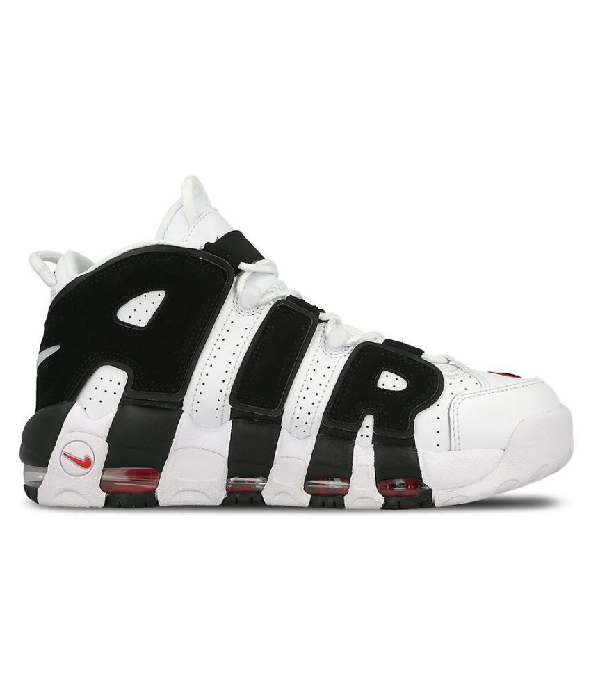 pretty nice 9fb59 cecd8 ... Nike Air Uptempo 96 Limited Edition White Basketball Shoes ...
