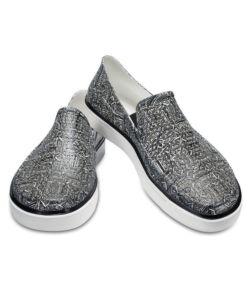 3fc5feee91f5 Crocs CitiLane Roka Graphic Slp M Sneakers Black Casual Shoes - Buy ...