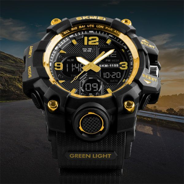 Skmei 1155 Golden Sports Watch Buy Skmei 1155 Golden Sports Watch Online At Best Prices In India On Snapdeal