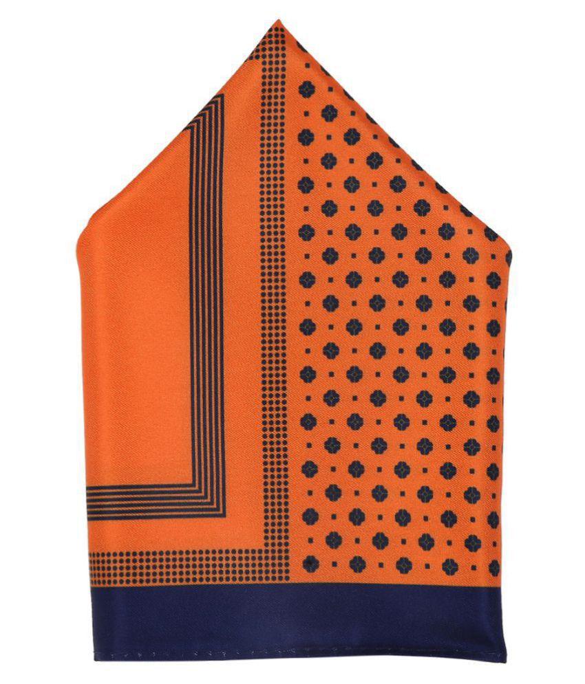 Zido Multicolor Pocket Square for Men PSQ214
