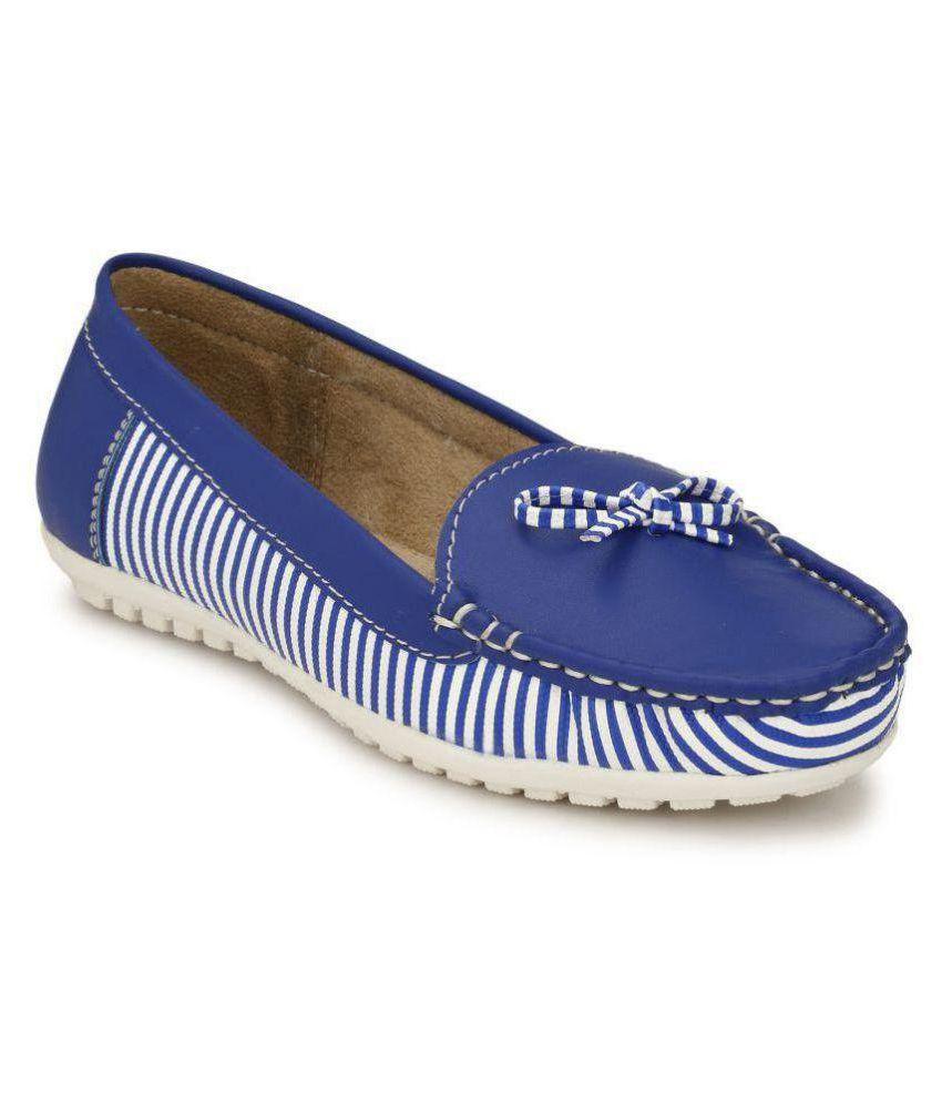 Rimezs Blue Casual Shoes