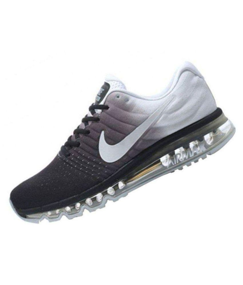 brand new e96f1 7e99a Nike AirMax White Running Shoes - Buy Nike AirMax White Running Shoes  Online at Best Prices in India on Snapdeal