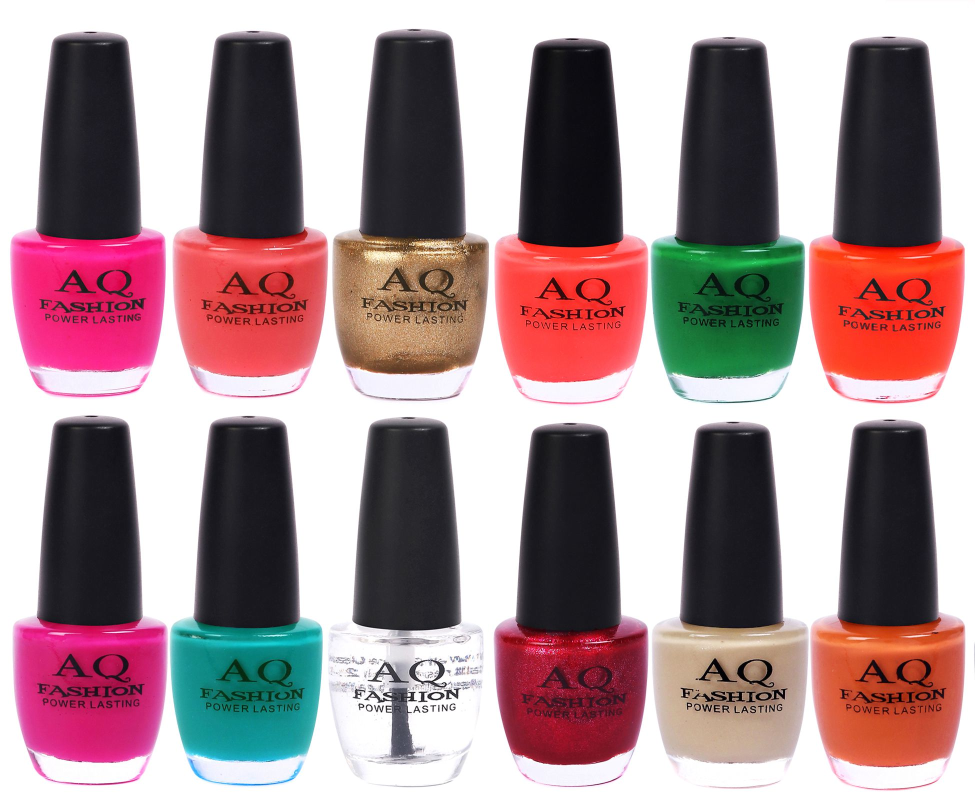 AQ Fashion Nail Polish Classical Color Range Nail Lacquer Matte 144 ml