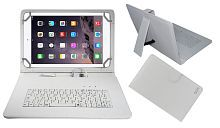 Acm Usb Keyboard Case for Apple Ipad Air 1 Tablet Cover Stand - White