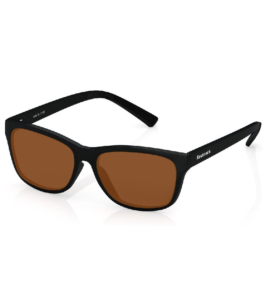 86bfe28f3e Fastrack Brown Wayfarer Sunglasses ( P357BK4 ) - Buy Fastrack Brown  Wayfarer Sunglasses ( P357BK4 ) Online at Low Price - Snapdeal