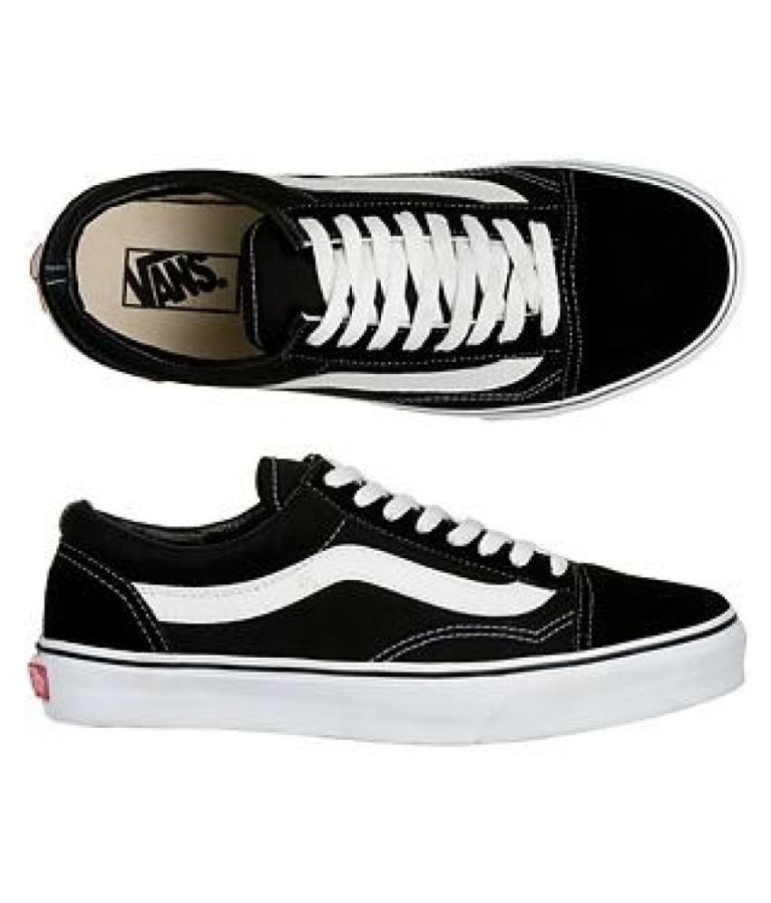 73db81bc1234 VANS OLD SKOOL Black Casual Shoes - Buy VANS OLD SKOOL Black Casual Shoes  Online at Best Prices in India on Snapdeal