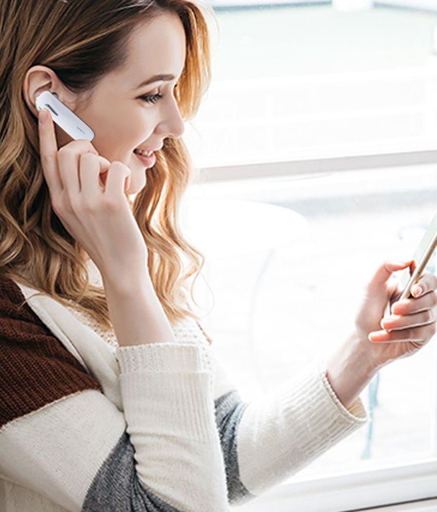 Vivo Bluetooth v5 Wireless Bluetooth Headphone White