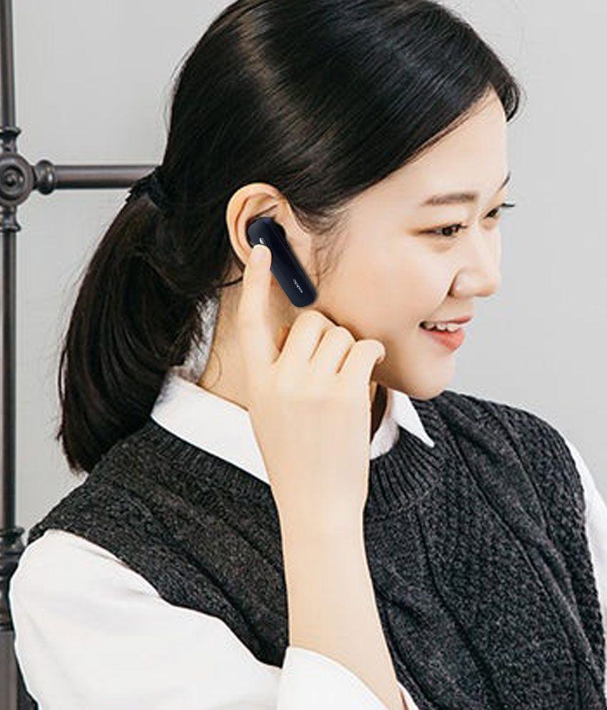 Vivo Bluetooth v5 Wireless Bluetooth Headphone Black