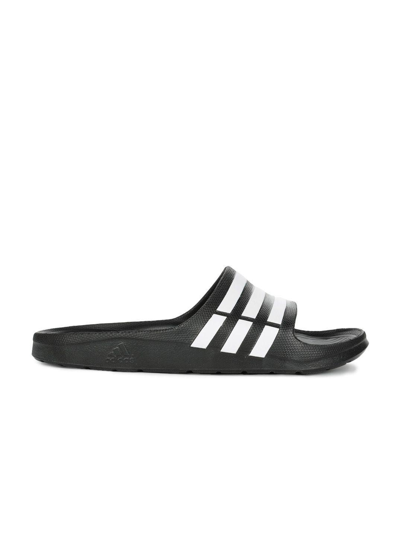 183d5b62e918 Adidas Duramo Slide Flip Flops Black Adidas Duramo Slide Flip Flops Black  ...