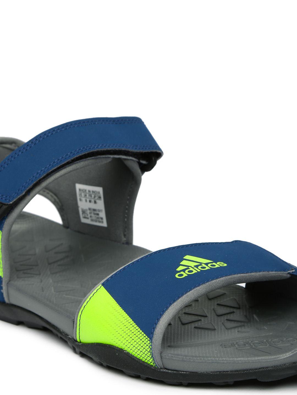 fad61f37d64c Adidas Men Cyran M Sports Navy Sandals Price in India- Buy Adidas ...