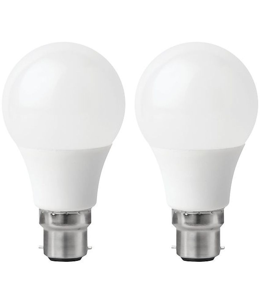 NIPSER 9W LED Bulb Cool Day Light   Pack of 2