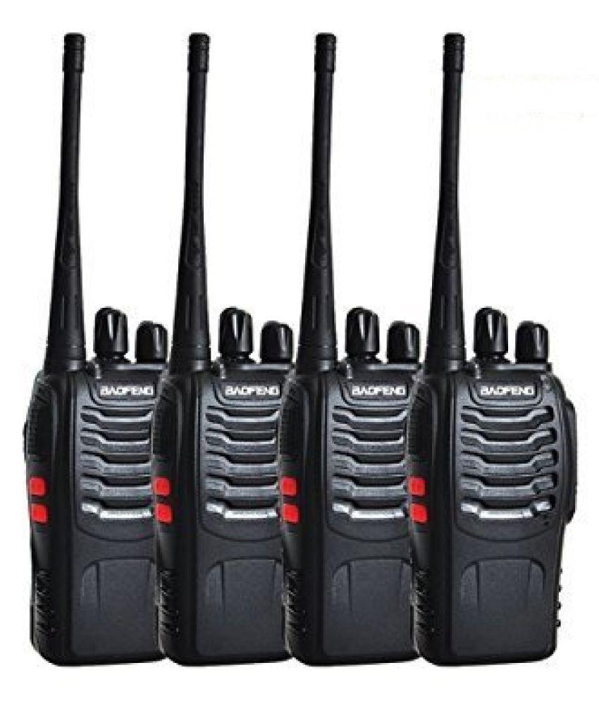 4 WAY Baofeng BF-888S two way radio WALKIE TALKIE RADIO ,FM Transceiver ( 2PAIR) (Storage channel: 16)