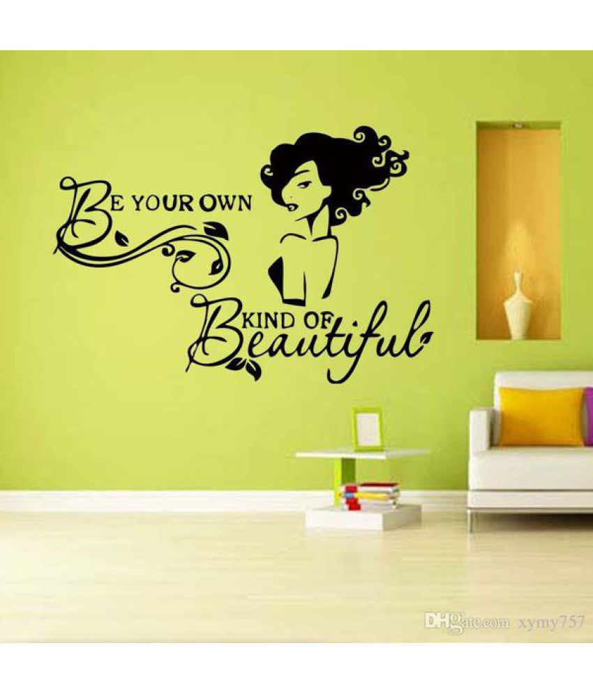 Ah Decals Quotes Motivational/Quotes Sticker ( 30 x 4 cms ) - Buy Ah ...