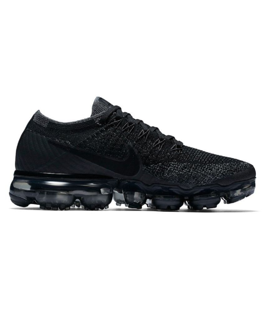 7bfe1c3722c08 Nike Vapormax 2018 Black Running Shoes - Buy Nike Vapormax 2018 Black Running  Shoes Online at Best Prices in India on Snapdeal