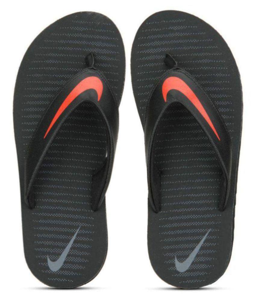 aba21fc6aa2 Nike Chroma Thong 5 Black Grey Orange Thong Flip Flop