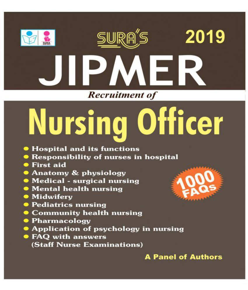 Jipmer Nursing Officer Exam Books 2018: Buy Jipmer Nursing Officer ...