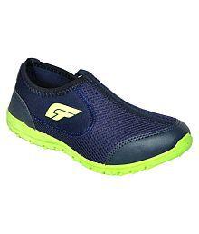 Bata Blue Walking Shoes