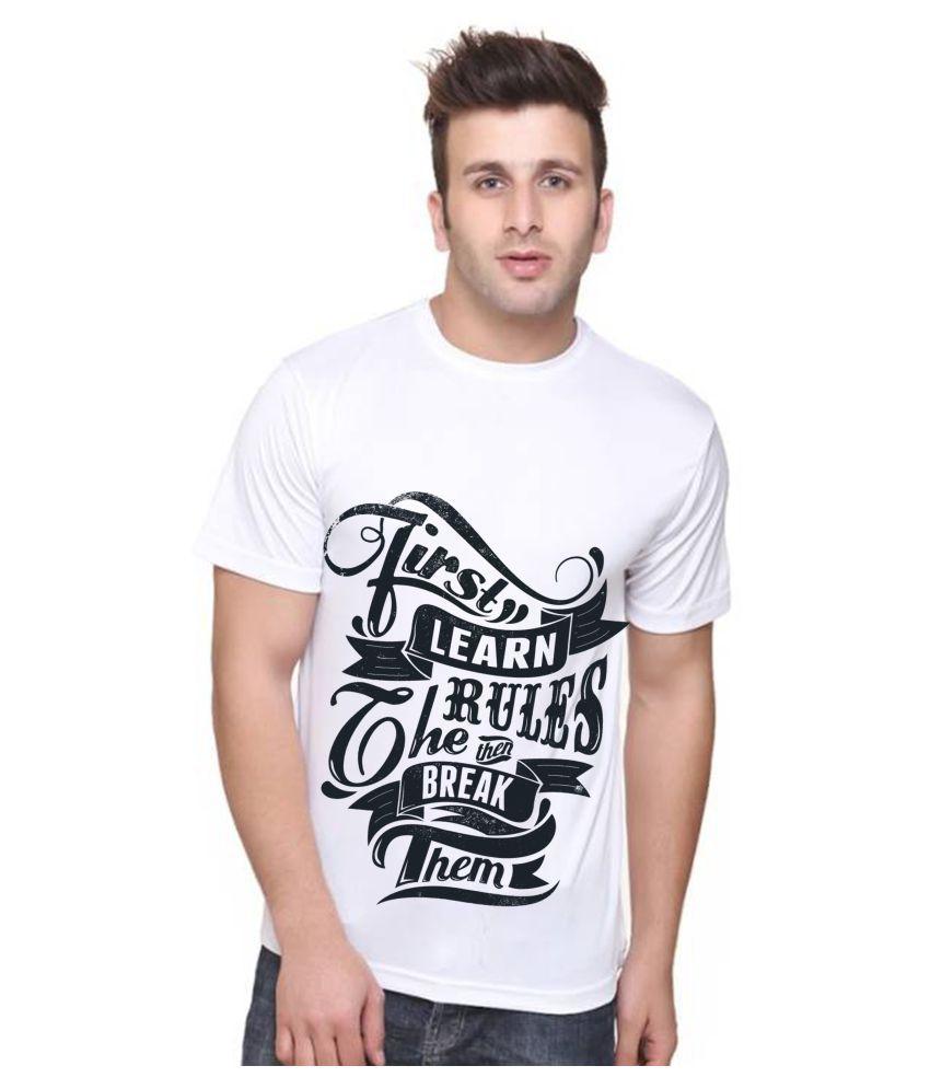Decot Paradise White Round T-Shirt