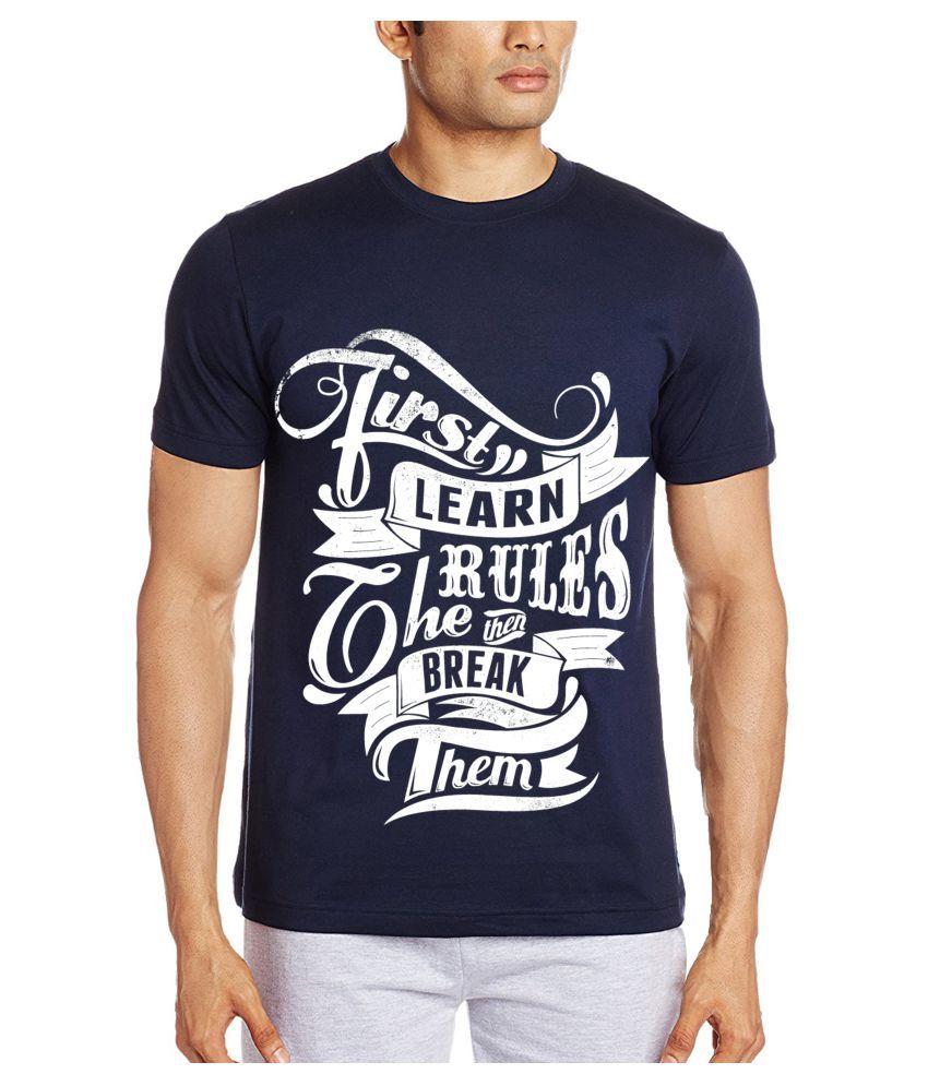Decot Paradise Blue Round T-Shirt