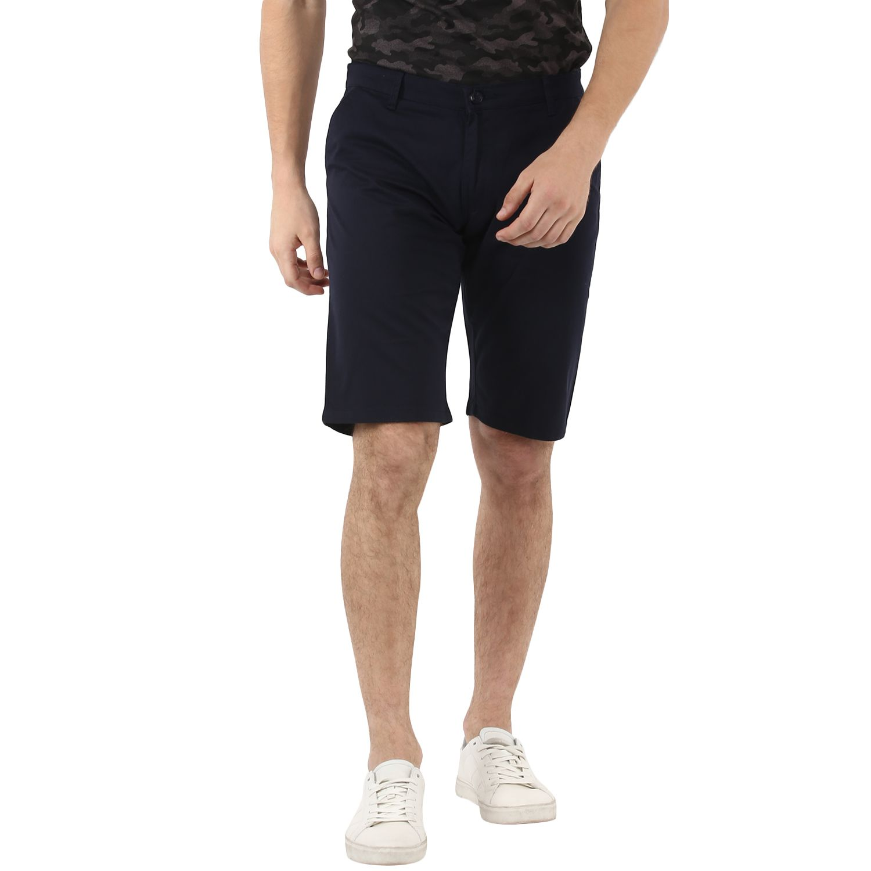 Urbano Fashion Navy Shorts
