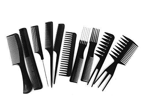 Sweetpea Extra Fine Tooth Rattail Comb - 10 Combs