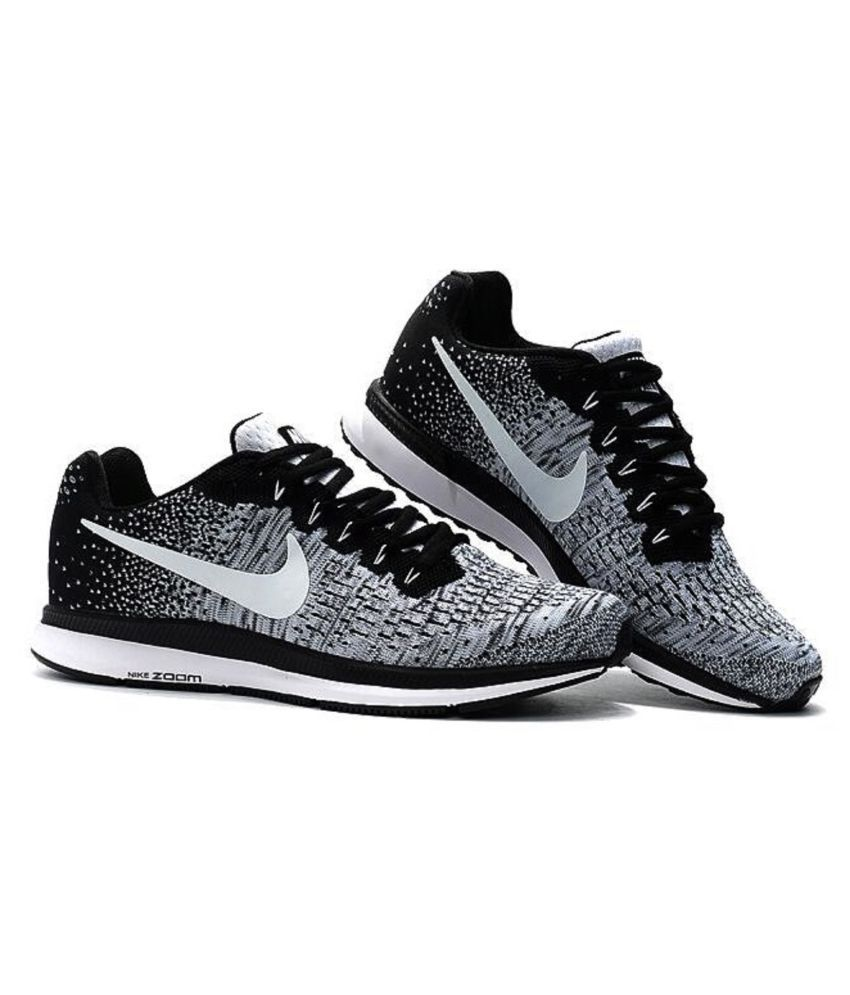 9225b8512222 Nike Air Zoom Pegasus 33 Knite 2018 Grey Running Shoes - Buy Nike ...