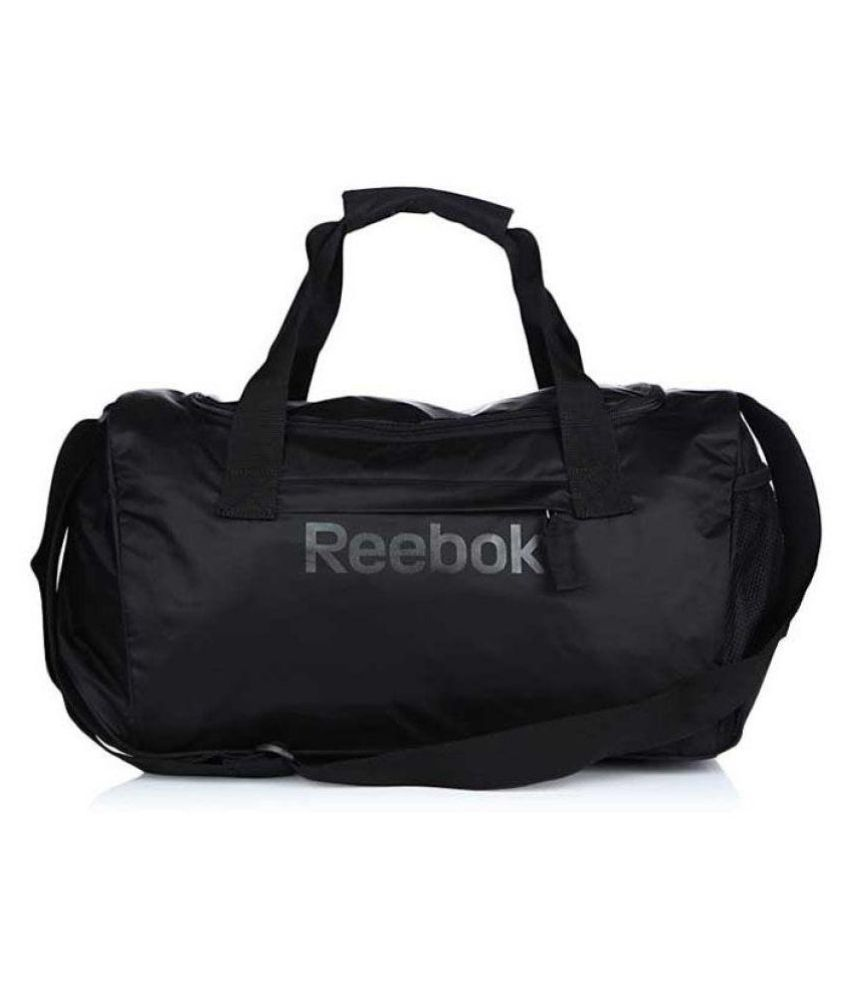 Reebok Black Solid Duffle Bag - Buy Reebok Black Solid Duffle Bag Online at Low  Price - Snapdeal 645dd35e57b05
