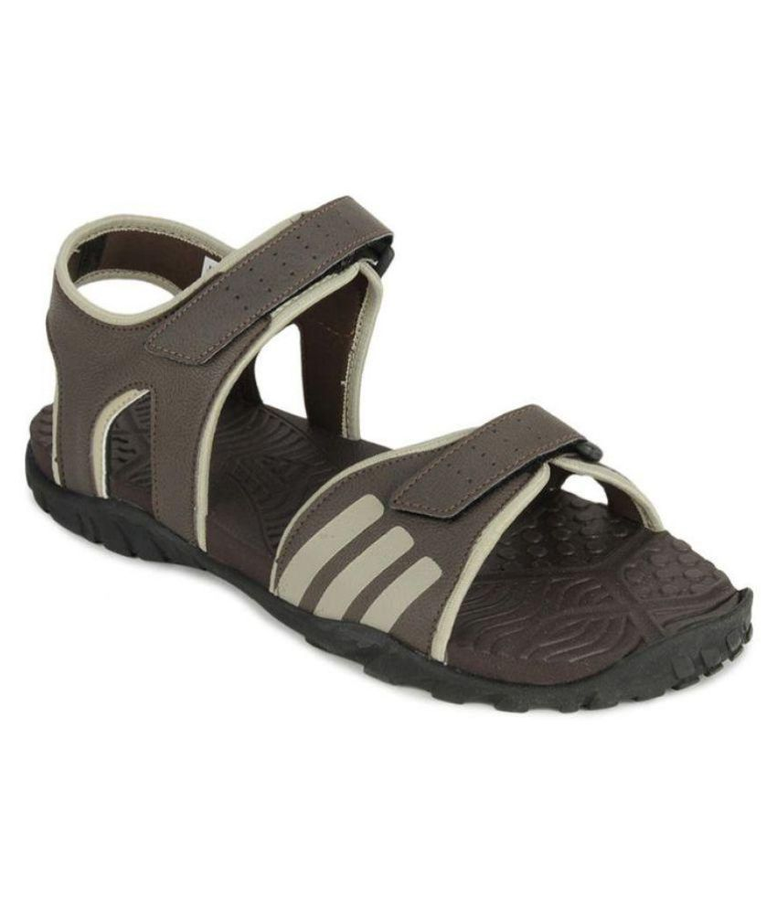 7c4c19d06 Adidas Q17371 Brown Floater Sandals - Buy Adidas Q17371 Brown Floater Sandals  Online at Best Prices in India on Snapdeal
