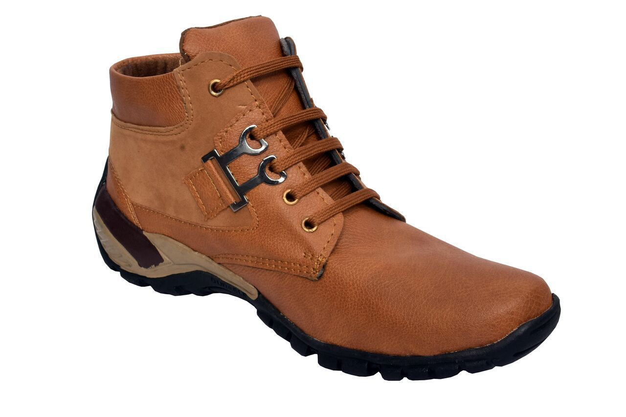 PM Traders Camel Casual Boot