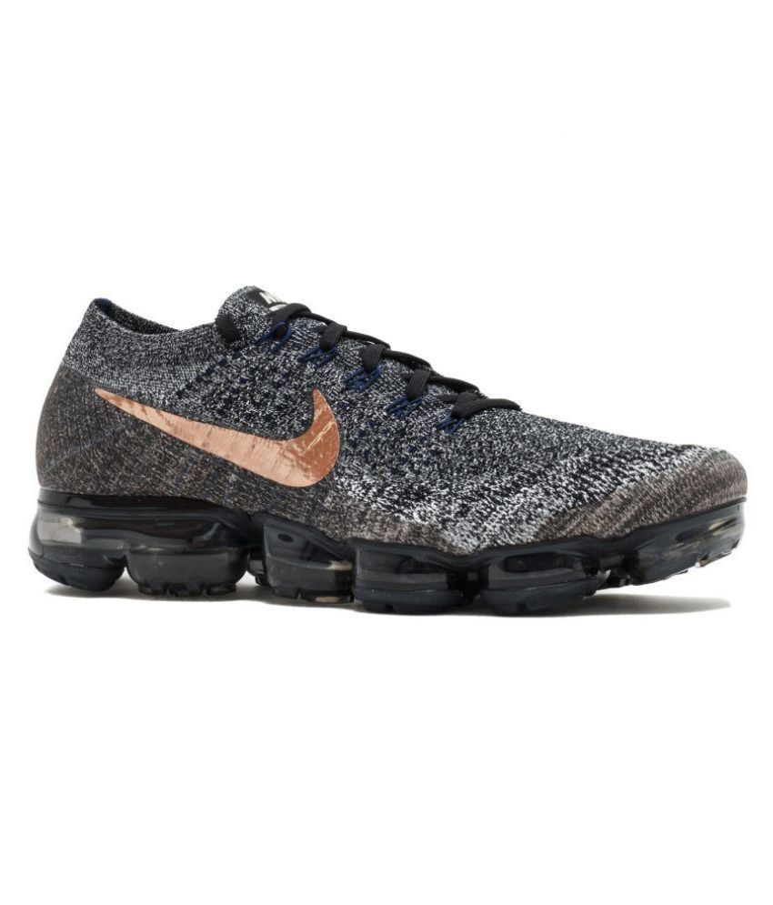 fe21808d0e Nike Air Vapormax Grey Running Shoes - Buy Nike Air Vapormax Grey Running  Shoes Online at Best Prices in India on Snapdeal