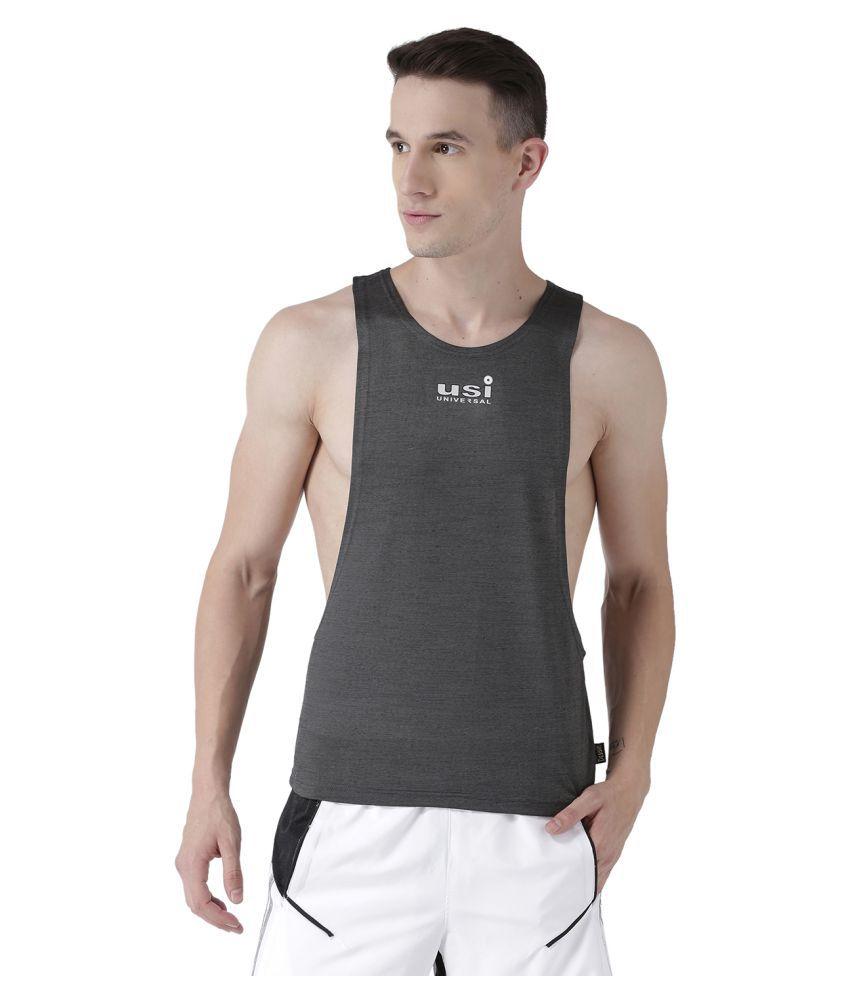 USI Universal Grey Gym Vest